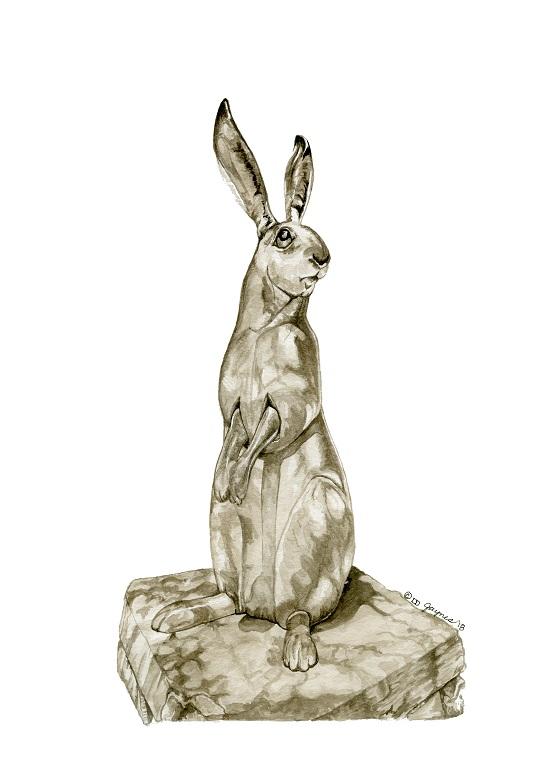 Stone Rabbit of Santa Fe