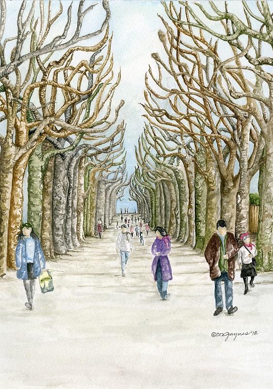 Promenade des Pollards