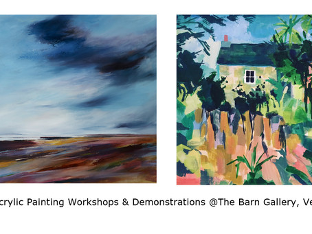 New Workshops & Demos at The Barn Gallery