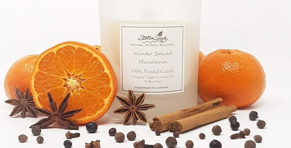 Spiced Mandarin Organic Home Candle