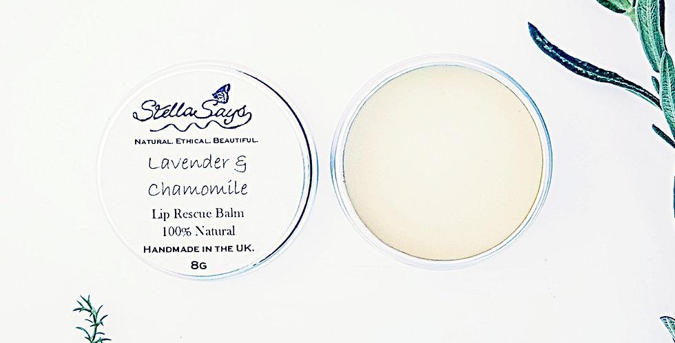 Lavender & Chamomile Lip Rescue Balm Tin