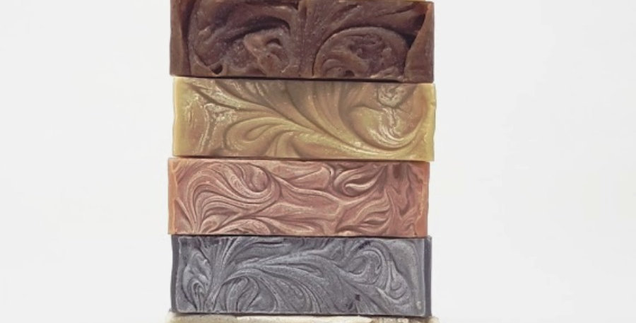 Handcrafted Organic Soap Gift Selection Box