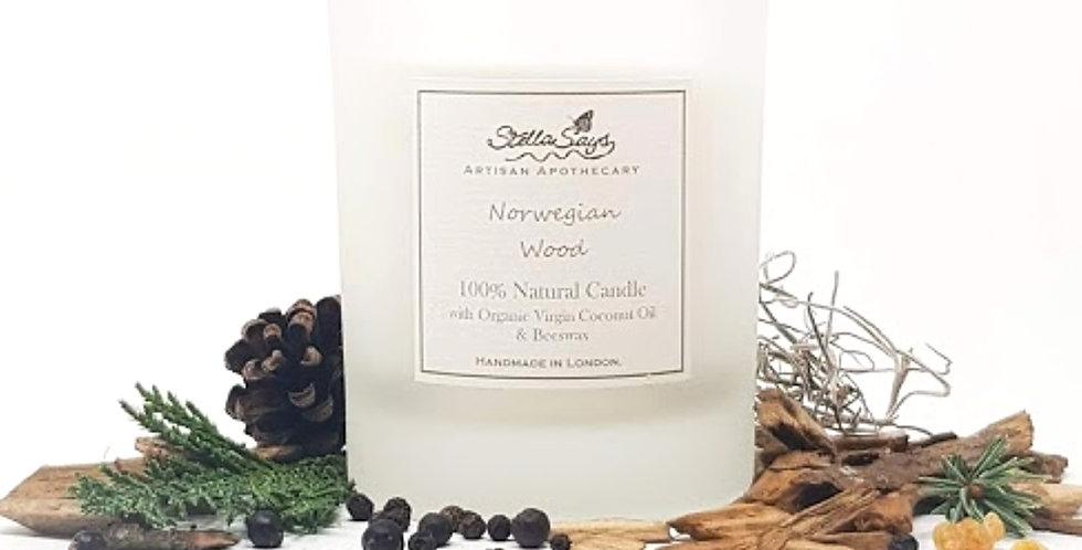 Norwegian Wood Organic Home Candle