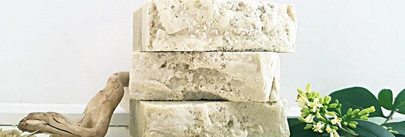 Sea Salt, Kelp & French Green Clay Mineral Bar