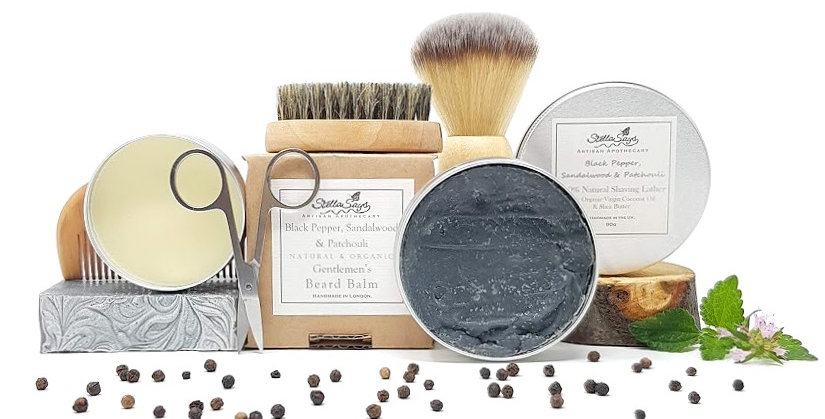 The Dapper Chap Organic Artisan Grooming Kit Deluxe