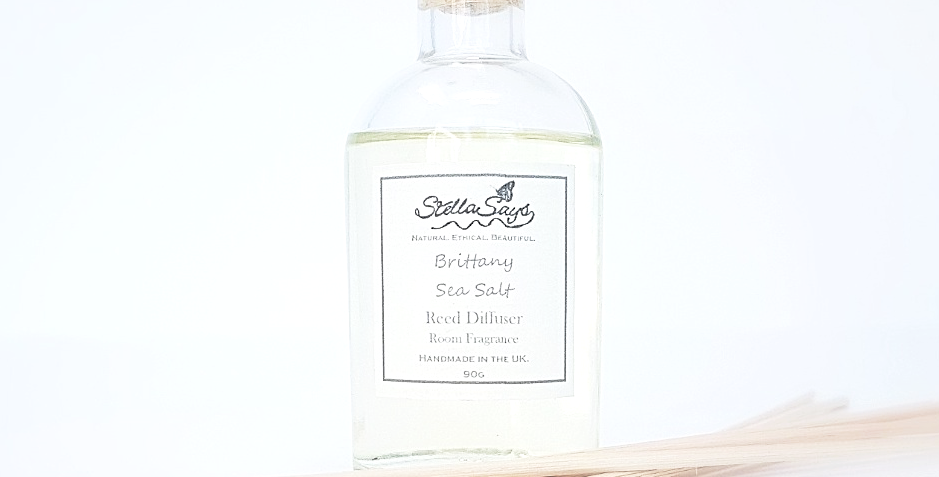 Brittany Sea Salt Reed Diffuser Room Fragrance