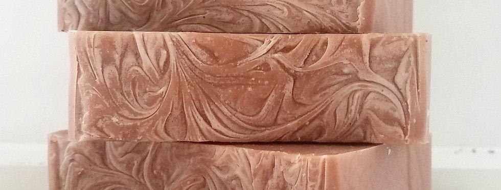 Geranium, Bergamot & Red Clay Soap