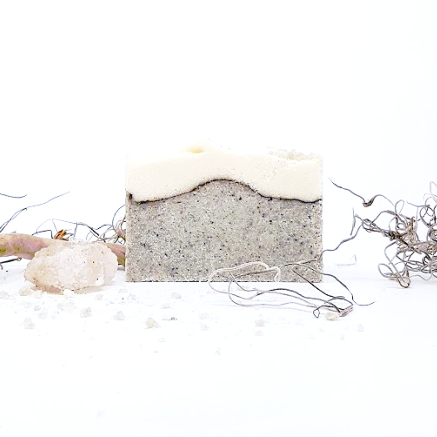 handmade organic sea salt soap