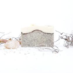handmade organic sea salt soap