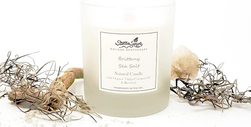 Brittany Sea Salt Organic Home Candle