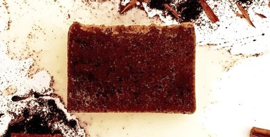 Goat Milk, Cinnamon & Craft Coffee Scrub Bar