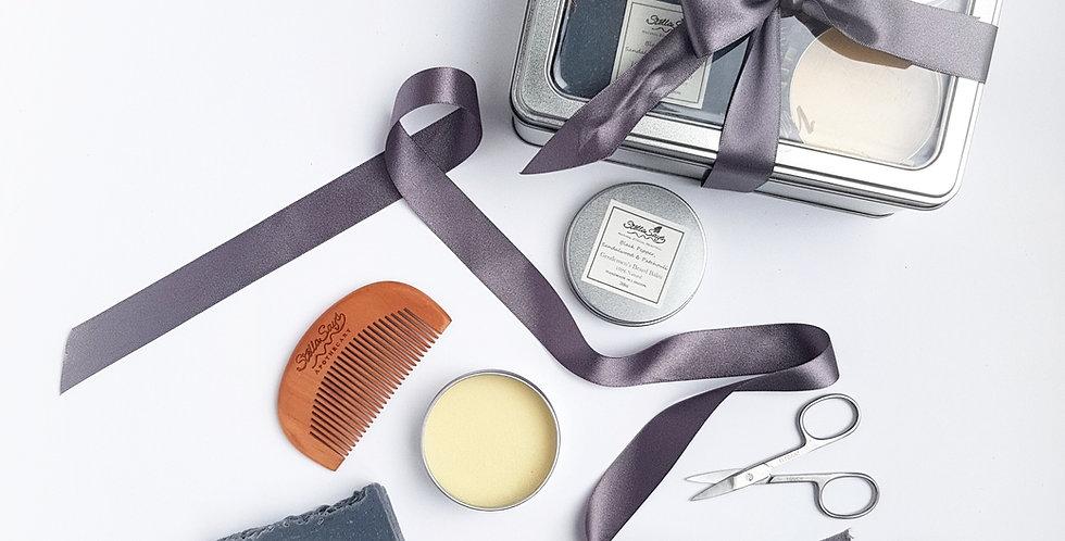 The Dapper Chap Organic Artisan Grooming Kit Mini
