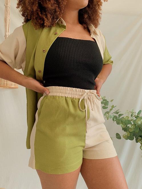 shorts colorblock / collab Sodro