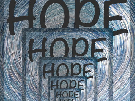 A Droste Hope--God's phrase for me for 2021.