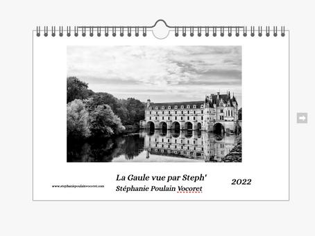 Mon calendrier paysages disponible à la vente !