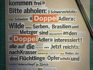 «Schweizer Doppel-Adler kommt frei!»