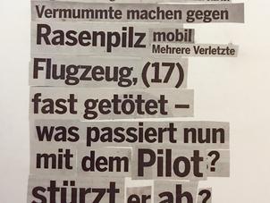 «Mehrere verletzte Flugzeuge...»