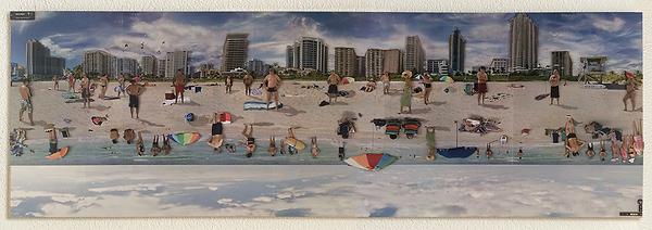 Beachwalk, 2 1/2 dimensionale Strandbilder, vom Papierkünstler tom k. aus Mettmenstettn.