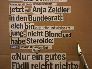 «Ein Hoch auf Anja!»