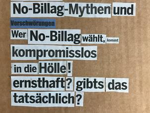 «No-Billag Mythen und Verschwörungen»