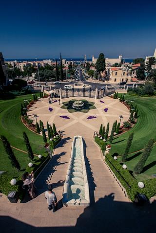 Hanging Gardens of Haifa Isreal