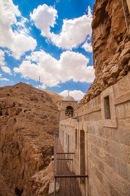 Mount of Temptation Jericho Israel