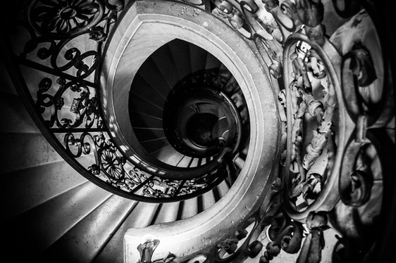 Chateau Versailles Spiral Staircase