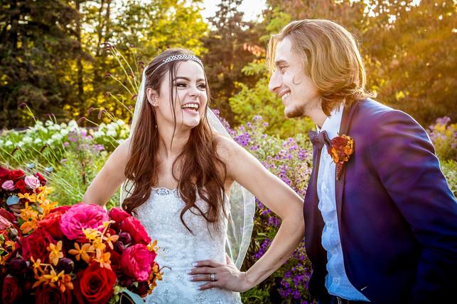 Toronto Sunset Garden Wedding
