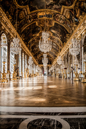 Hall of Mirrors Chateau Versailles