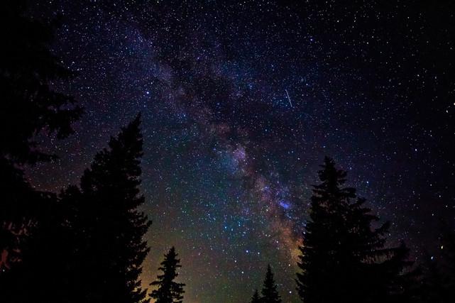 Milky Way Skyscape Durmitor Montenegro