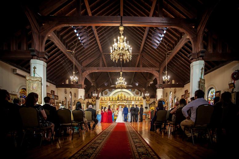 Christ the Savior Cathedral Wedding