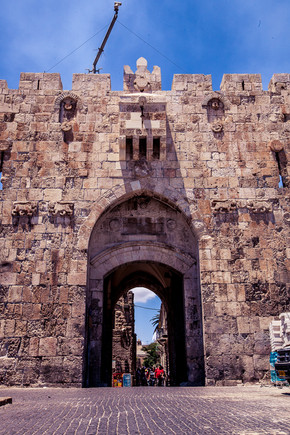 Lion's gate Old City of Jerusalem