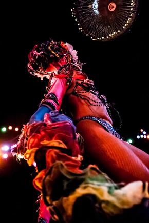 The Tropicana Cabaret Dancer