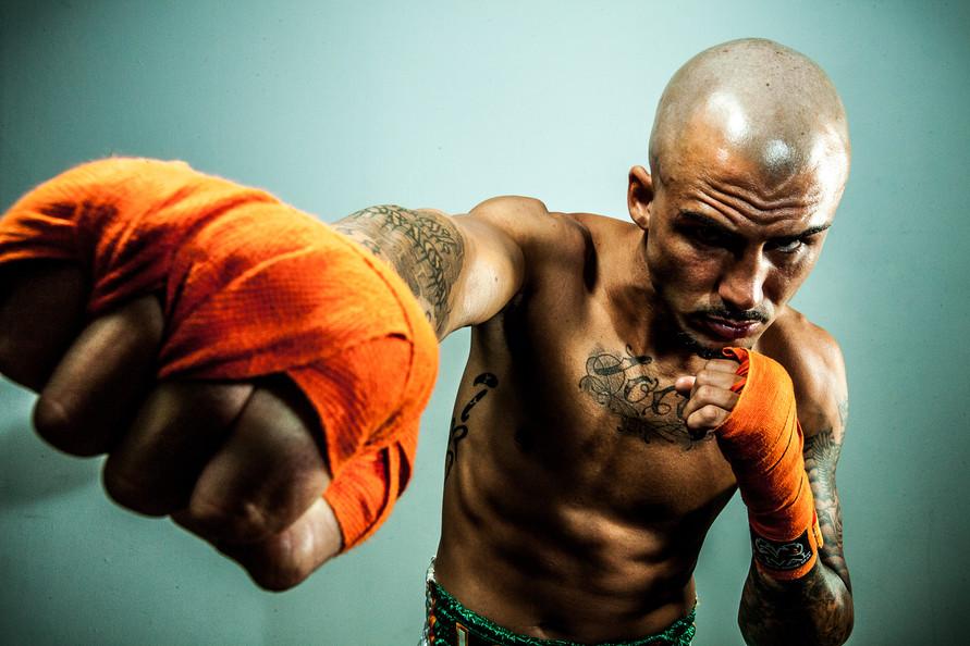 Boxing Editorial Portrait