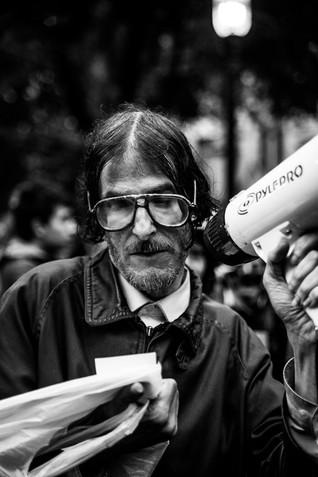 Occupy Toronto protestor street photography ADPhotografe