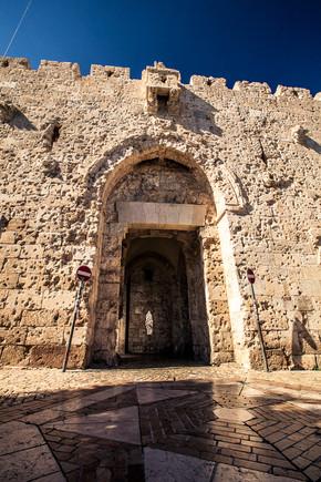 Zion Gate Old Jerusalem Israel