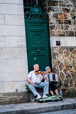 Street Performers in Paris France