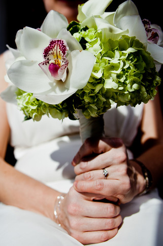 Bridal Photography Bouquet and Rings