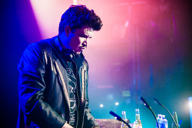 Rob Garza Thievery Corporation Toronto Ontario