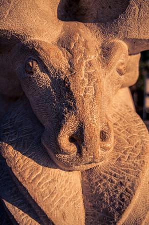 Jaffa Statue of Faith Israel Travel-Photography