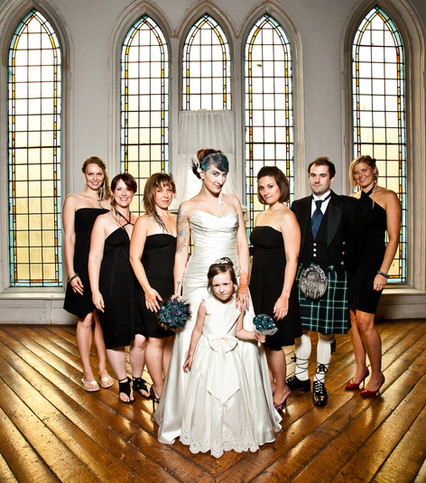 Bridal Party The Berkely Church