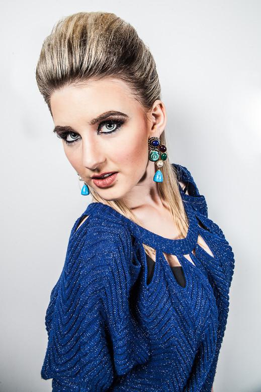 Jewelry Modeling Portrait