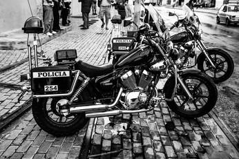 Havana Cuba Police Motorcycles