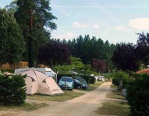 allée camping