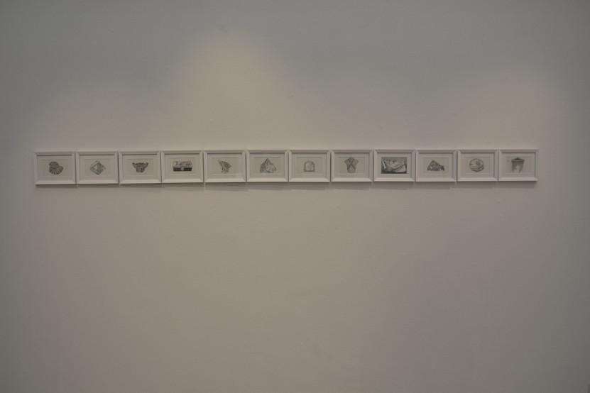 Drawings. Series Exercises of memory.