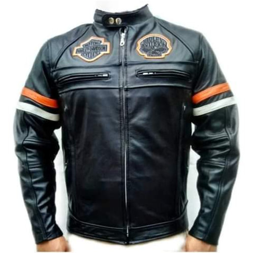 1014 Chamarra Casual Logos Harley