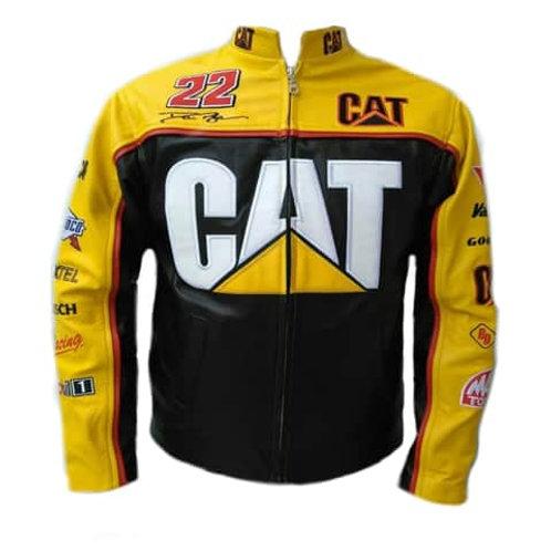 1016 Chamarra Casual Logos CAT