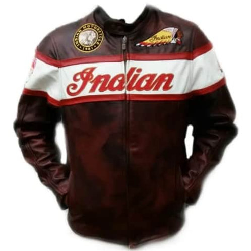 1013 Chamarra Casual Logos Indian