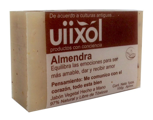 Jabón de Almendras 100gr. - Uiixol