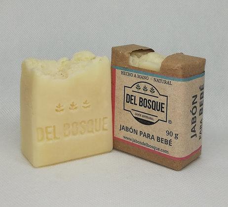 Jabón para Bebé 110gr. - Del Bosque
